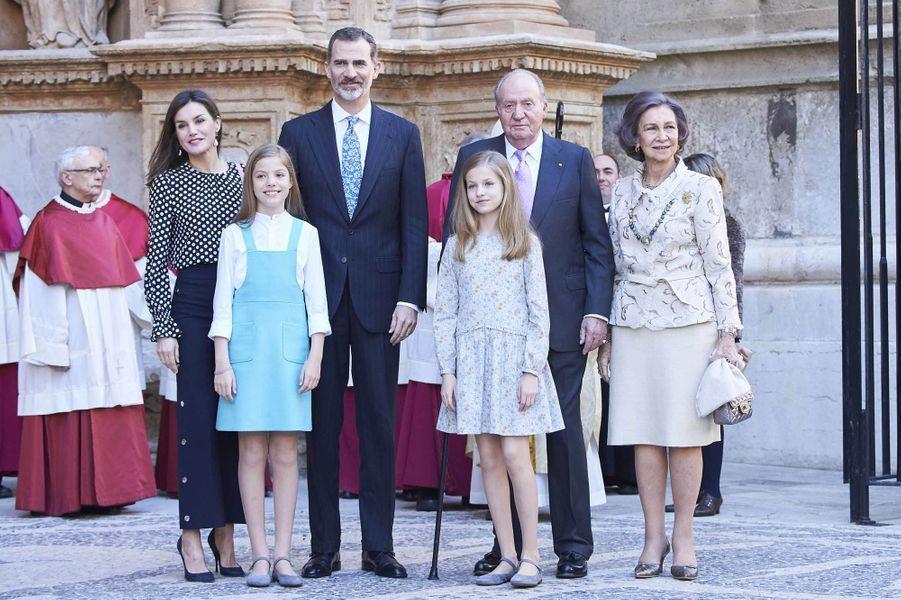 Photographie de la famille royale espagnole